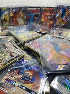 READ DESC 20 CARD BOOSTER PACKS M Charizard EX V Vmax and GX SLEEVED Repack
