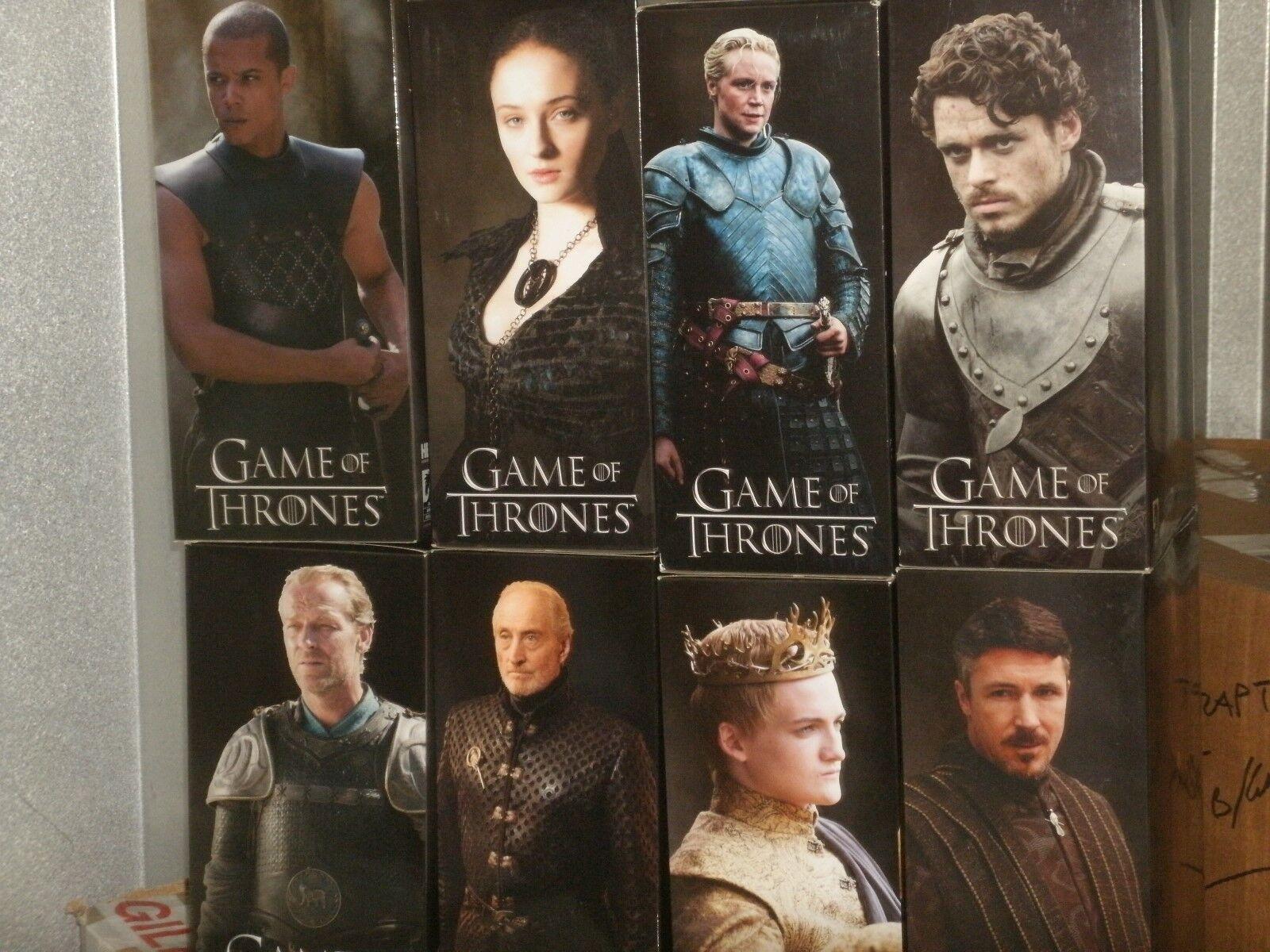 Game of thrones deluxe sammler zahlen  robb stark, littlefinger, sanska stark