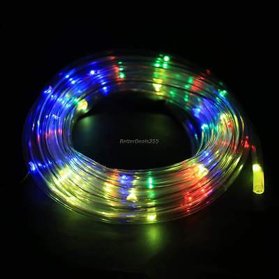 Outdoor Light Lights -7M 50LED Solar Rope Light Light Multicolor Waterproof New