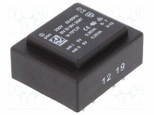 Transformador-Revestido-0-7VA-230VAC-9V-9V-39mA-44g-Bv-Huevo-301-3587-Pcb-Tra