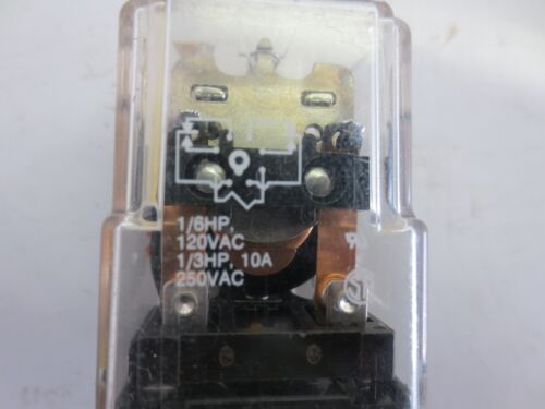 120V 50//60HZ POTTER AND BRUMFIELD KRPA-11AG-120 RELAY