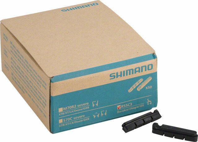 Shiuomoo R55C3 strada Brake Pads 50 Pairs