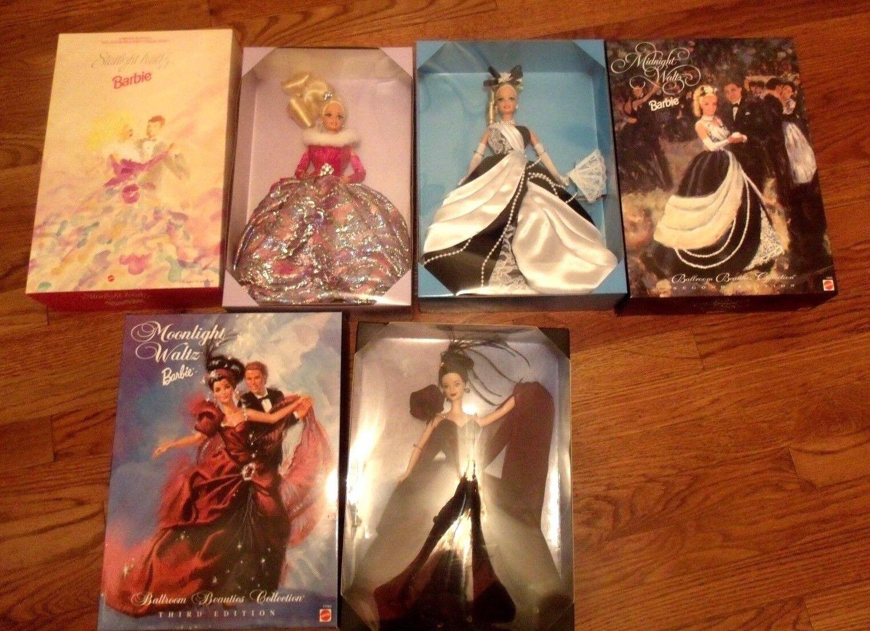 Lote de 3 Barbie De La Luna-medianoche & Starlight Vals Ballroom Belleza