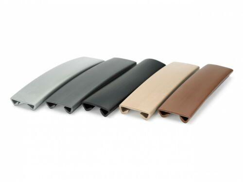 Quest handrail economic pcv Standard 40x8mm 1m Various Colors Rubber