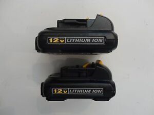 2-DEWALT-DCB120-12V-12-VOLT-MAX-Lithium-Ion-Battery-Packs-DCB120R-X-2