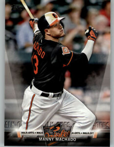Details About Manny Machado 2018 Topps Series 2 Topps Salute Insert S 5 Orioles