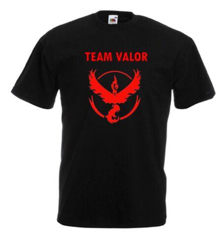 Team Valor Instinct Mystic Pokemon inspired T Shirt  Christmas gift Fitted