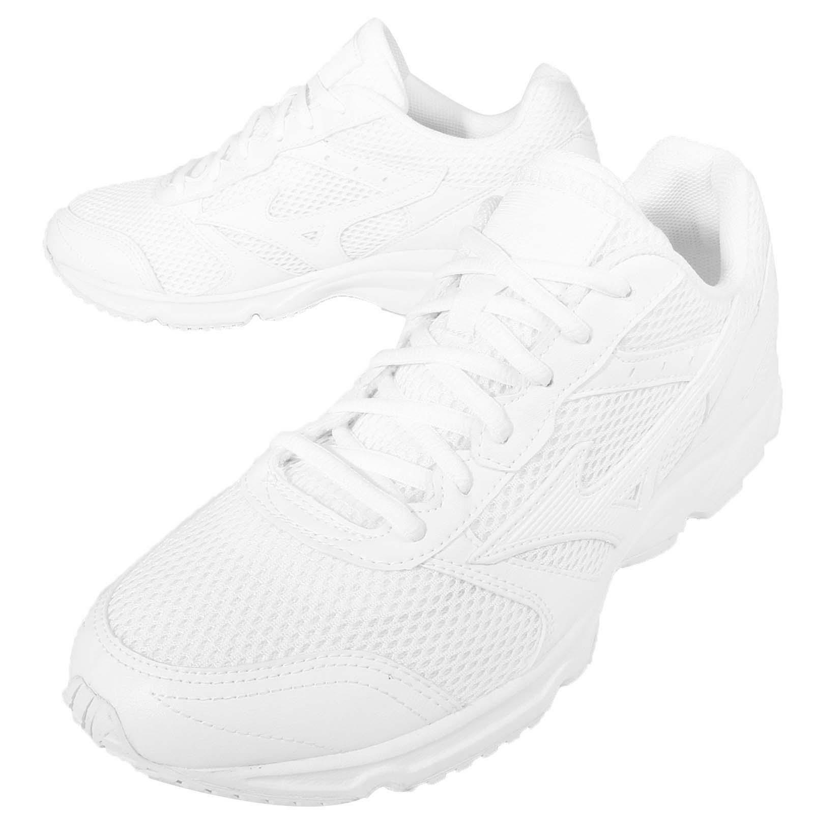 Mizuno Maximizer 18 All White Out Uomo Running Shoes  K1GA16-1401