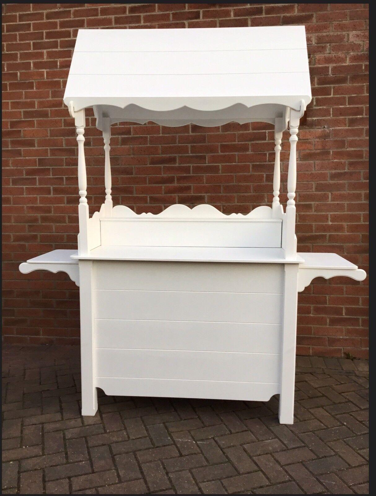 CANDY CART CUPBOARD DISPLAY SWEET SHOP WEDDING CAKE  MARKET STALL FLORIST STAND