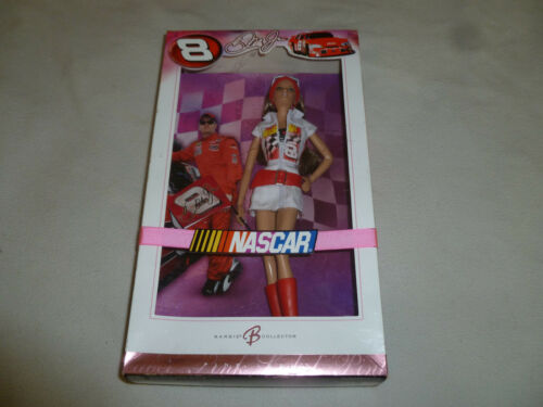 NEW IN BOX NASCAR DALE EARNHARDT JR BARBIE DOLL PINK LABEL NIB MATTEL K7973 2006