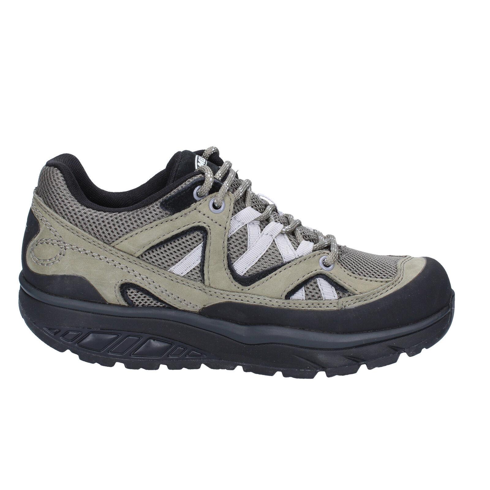 Damen schuhe schuhe schuhe MBT 37 EU sneakers grau Grün textil nabuk BT23-37 1df2ef