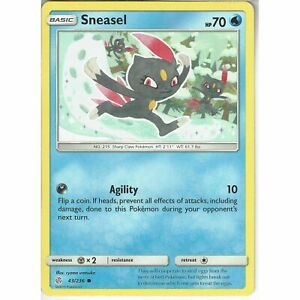 43-236-Sneasel-Common-Card-SM12-Cosmic-Eclipse-Pokemon-Trading-Card-Game-TCG
