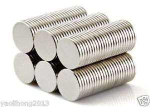 100pcs-Neodymium-Disc-Mini-10mm-X-1mm-Rare-Earth-N50-Strong-Magnets-Craft-Models