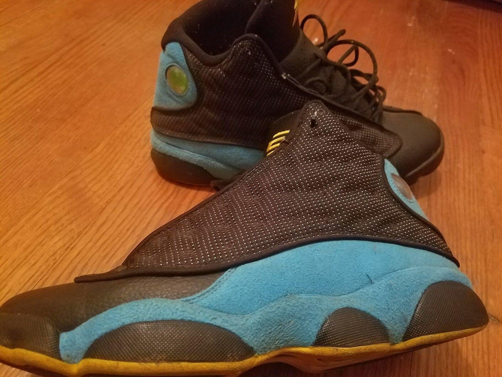 Nike air blu jordan xiii 13 vintage nero blu air 11 cp3 11 blu b9b003   4f7355