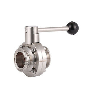 2-5-039-039-Sanitary-SS304-Tri-Clamp-Butterfly-Valve-with-Silicon-Seal-Quick-Connector