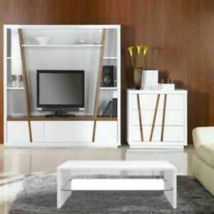 Wondrous Details About High Gloss White Coffee Table Modern Design Glass Table Living Room Furniture Download Free Architecture Designs Scobabritishbridgeorg
