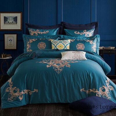 Luxury Bedding Set King Queen Egyptian, King Queen Bed Set