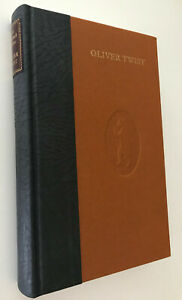Oliver Twist, Charles Dickens~Deluxe Facsimile 1937 Nonesuch Edition, Leather