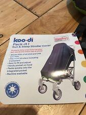 NEW KOO-DI PACK-IT SUN /& SLEEP STROLLER SHADE DOUBLE