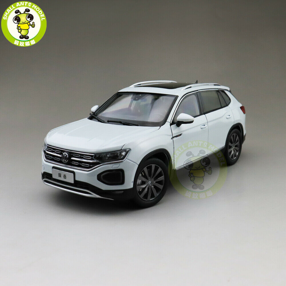 1 18 VW Volkswagen TAYRON SUV Diecast SUV CAR MODEL Toys kids boys gifts White