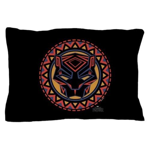 230505631 CafePress Black Panther Circle Mask Pillow Case