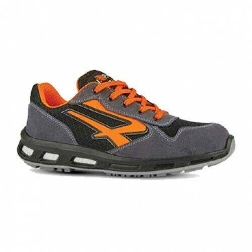 zapatos ANTINFORTUNIISTICA U-POWER rojo LION naranja S1P SRC