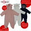 Baby-Snowsuit-Soft-Faux-Fur-Hooded-All-In-One-Snow-Suit-Romper-Pramsuit Indexbild 1