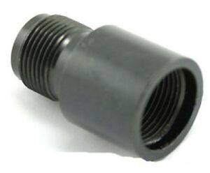 AIRSOFT-SILENCER-ADAPTER-14MM-TO-14MM-CW-TO-CCW-UK-DELIVERY