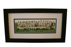 1927-New-York-Yankees-COLORIZED-Panoramic-Team-Framed-amp-Matted-Print