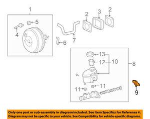 s l300 toyota oem brake master cylinder gasket 4727512020 ebay