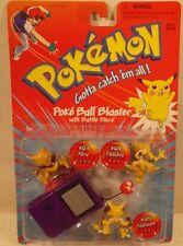 Pokemon PokeBall Blaster Abra Kadabra & Alakazam Figures Battle Discs Hasbro MOC
