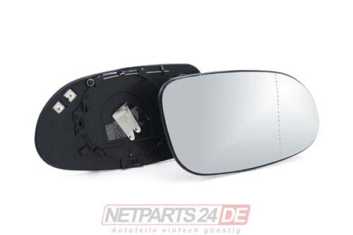 Außenspiegel Seitenspiegel-Glas rechts beheizbar Mercedes W168 ab 97 ab Lager