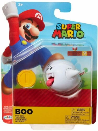 UFFICIALE SUPER MARIO BOO Action Figure con monete-NUOVO