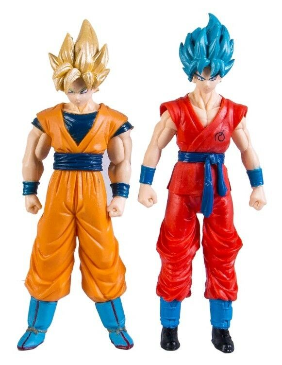 DRAGON BALL SUPER 2 GOKU Super Sayan God Action Figure Personaggio gold Toy Doll