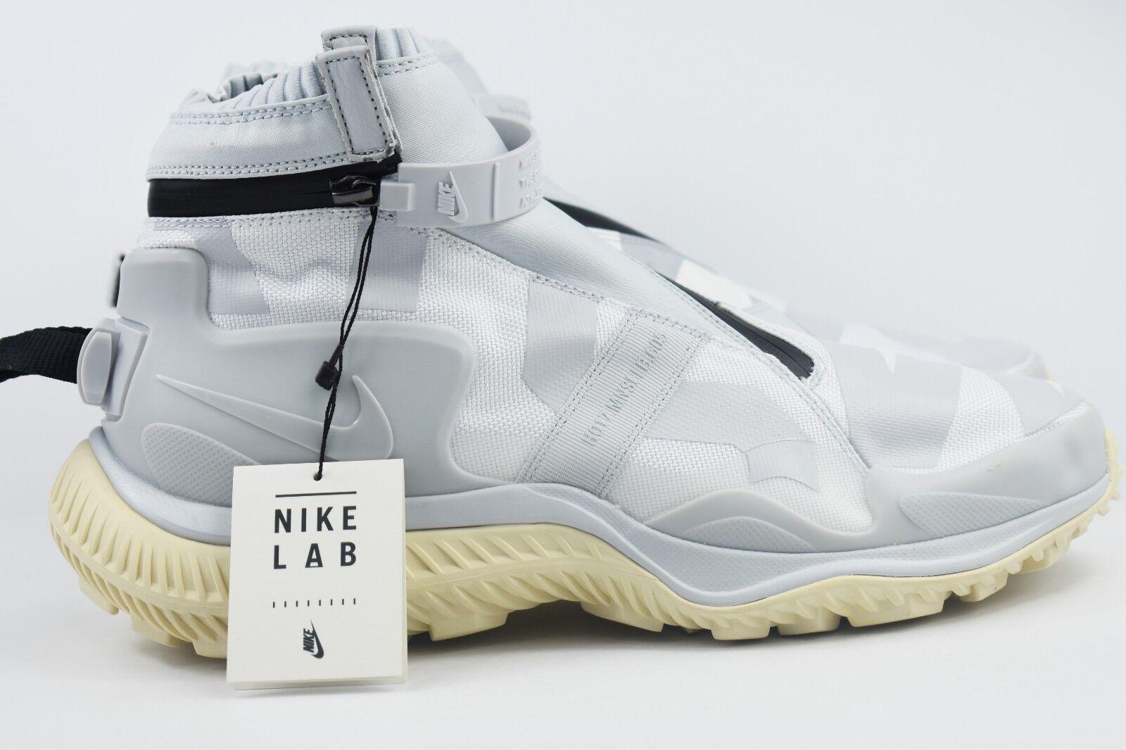 Nike nikelab gyakusou mens größe 11,5 gamasche probiert boot boot boot aus platin aa0530 100 488608