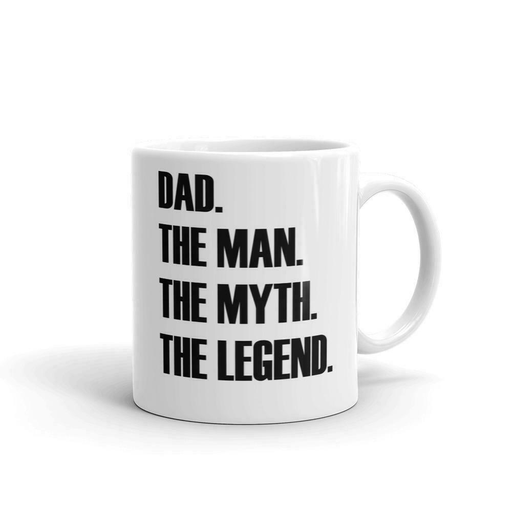 Best Funny Gift 11oz Coffee Mug Papa Man Myth Legend For Birthday Men For Sale Online Ebay