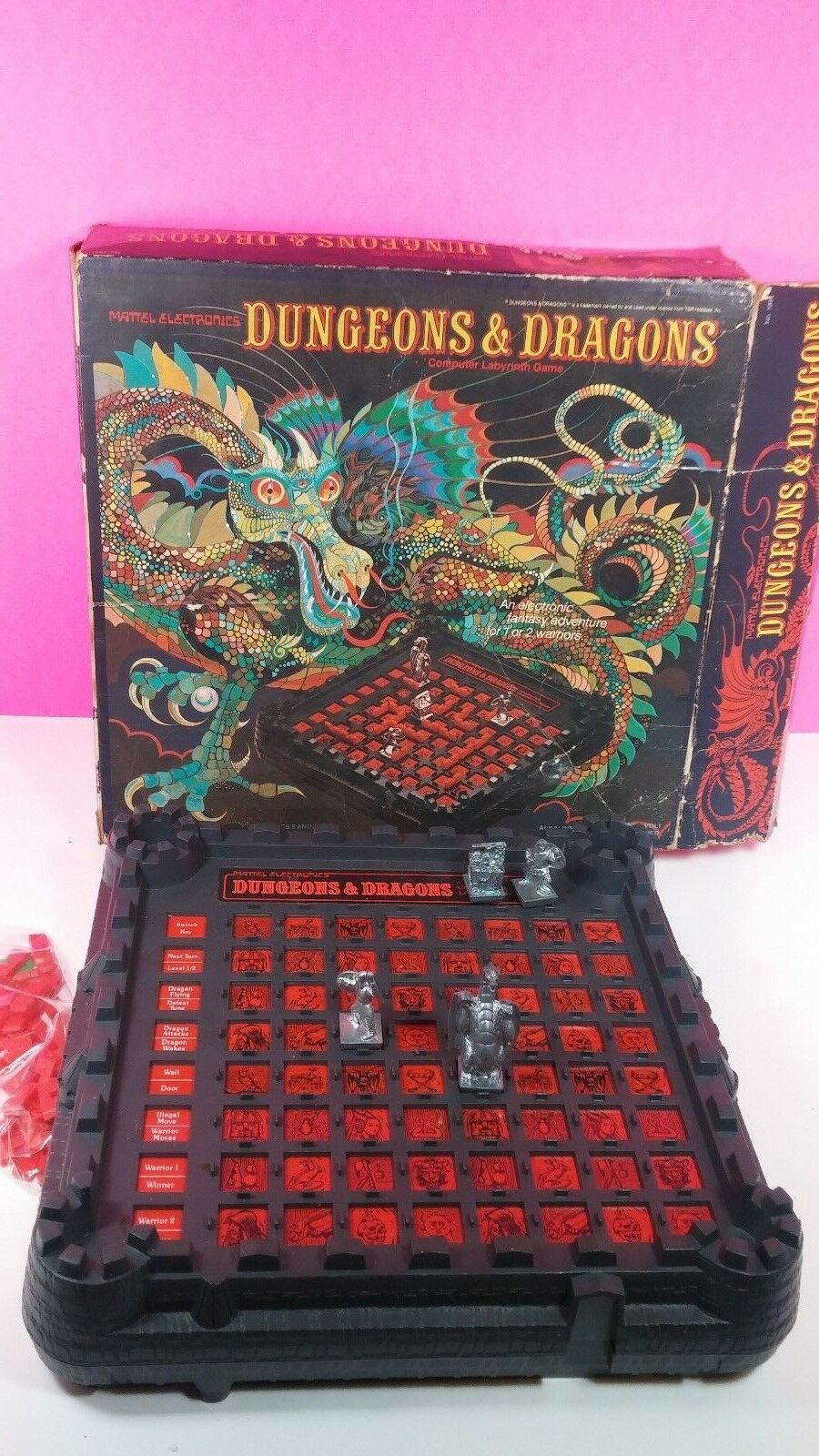 Dungeons and Dragons 1980 Computer Labyrinth Game