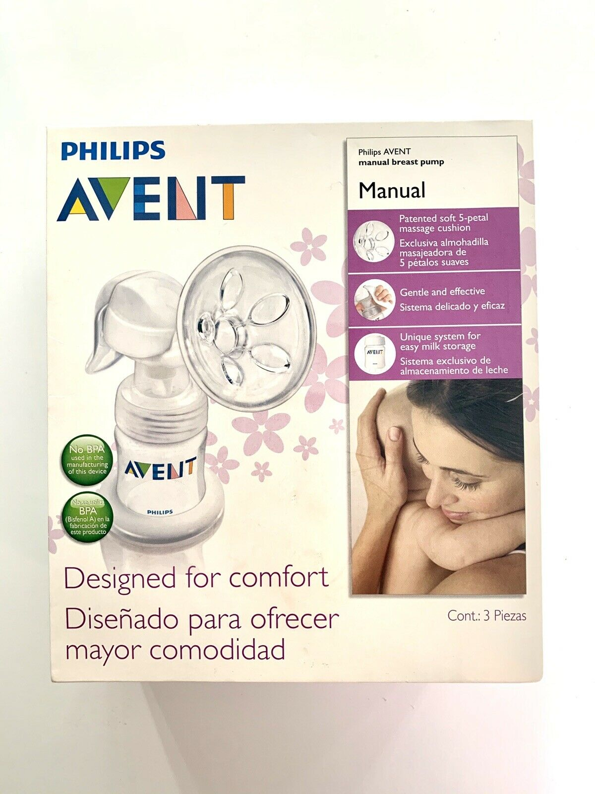 Manual SCF330//20 NEW Philips Avent Comfort Breast Pump REPLACEMENT HANDLE