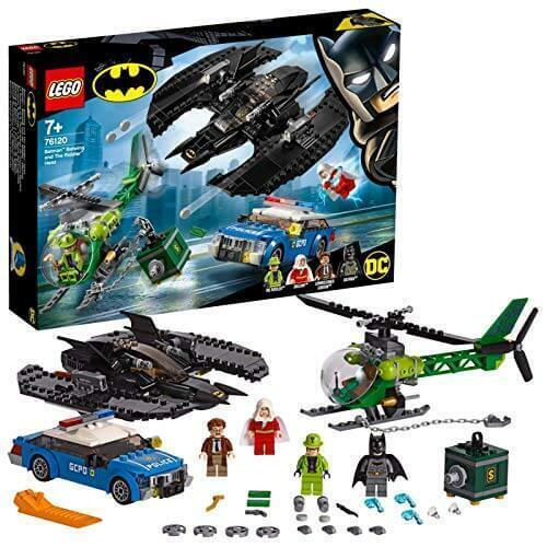 Lego Dc Batman, chauve-souris et le Riddler hold-up Set 76120