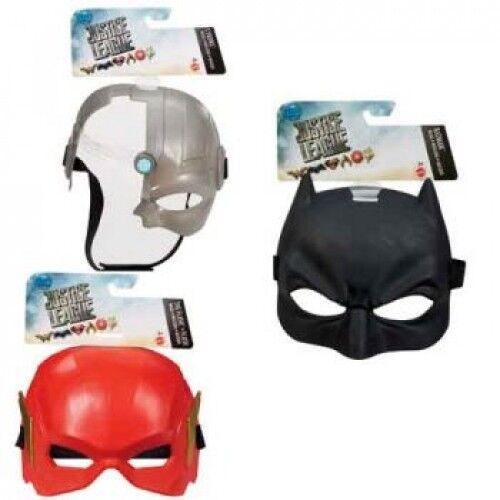 Justice League Hero Masque Assortiment (batman, flash, Cyborg)