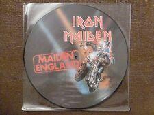 33T.LP.IRON MAIDEN.MAIDEN ENGLAND.20 BIT REMASTERS.EMI.RARE.PICTURE DISC.