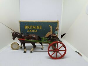 Britains 54mm hollow-cast lead farm rake