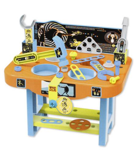 Banco lavoro giocattolo minions officina gioco bambini attrezzi idea regalo
