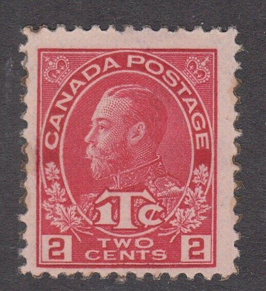 Canada MINT NH Scott #MR3 2 cent + 1 cent carmine