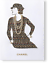 Chanel-Man-Ray-Trust-Greeting-Card-of-Coco-with-real-Tiny-Pearls-Gripoix-Rare thumbnail 1