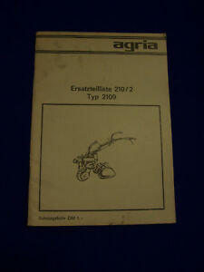 Original-Ersatzteilliste-fuer-Agria-2100-Zugradfraese-Raritaet