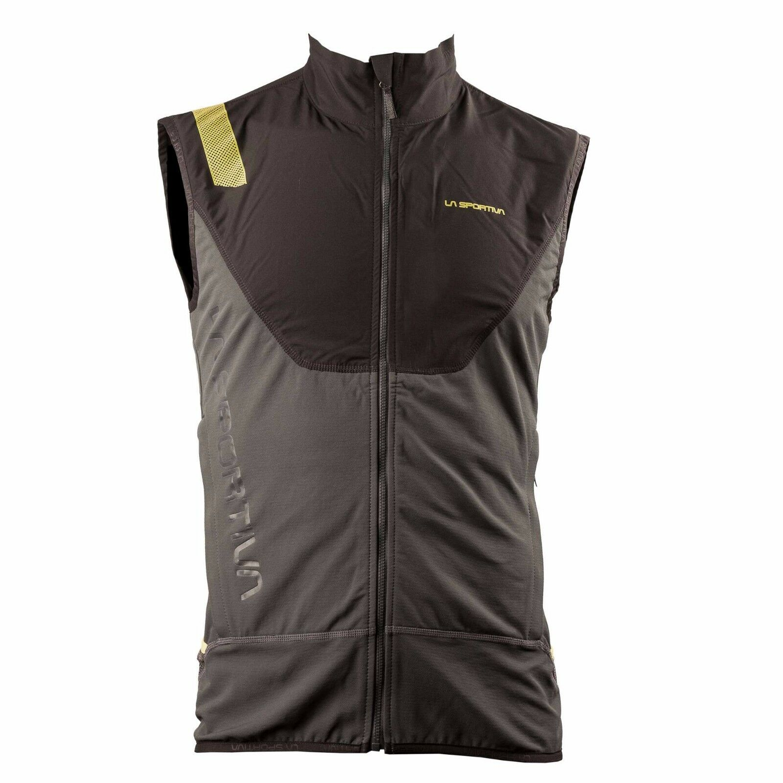 La Sportiva Stratos Racing Vest (M) Grau Gelb