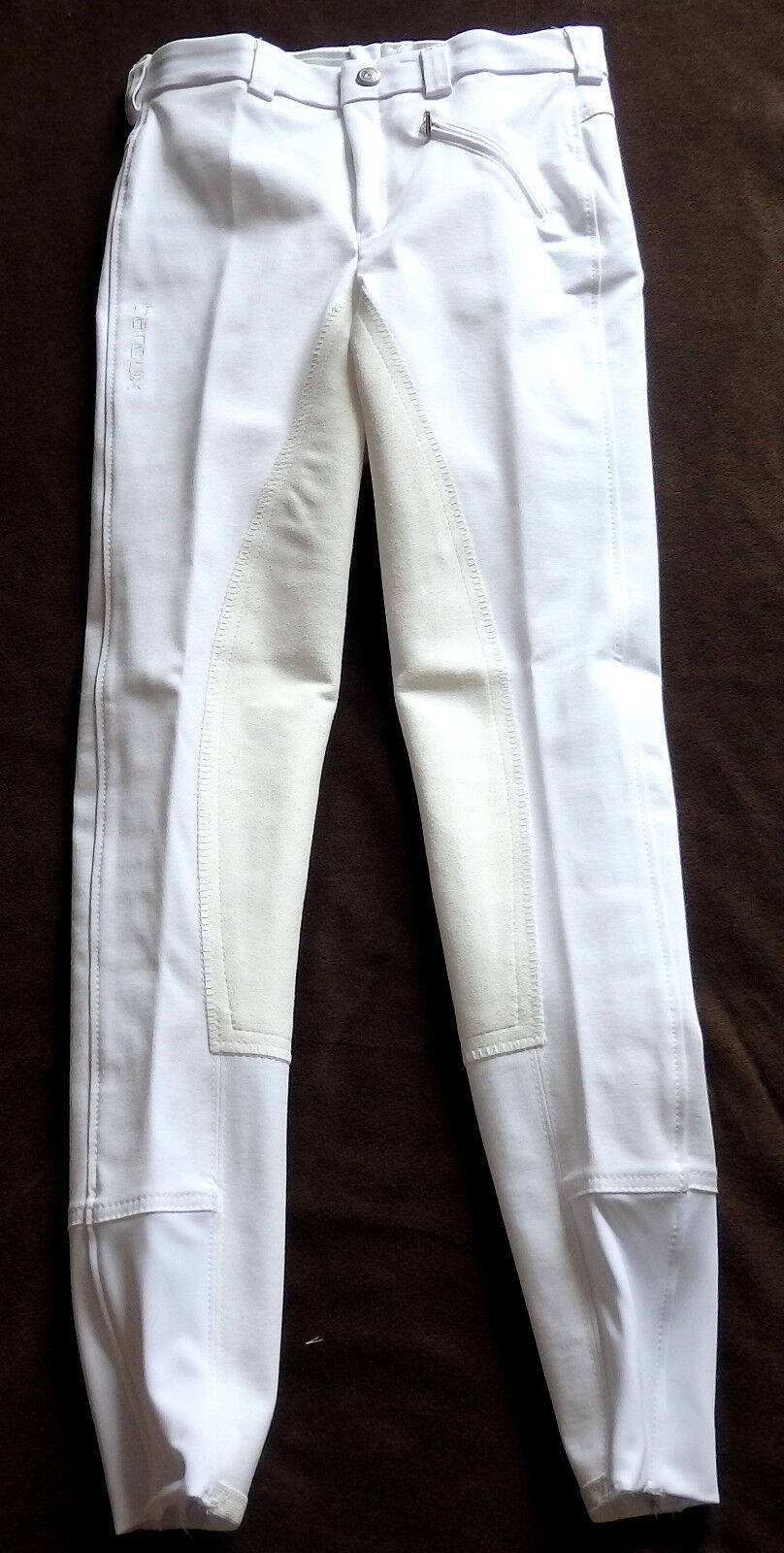ldren jodhpurs, 3 4 Full Trim, White, Size 140SL, baroux (13)  all goods are specials