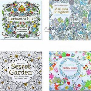 Girls Secret Garden Johanna Basford An Inky Treasure Hunt
