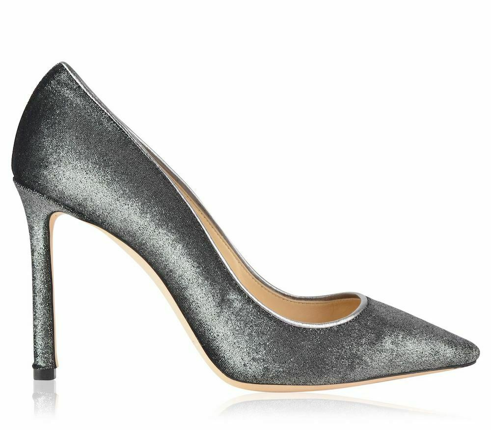 Jimmy Choo heeled shoes woman pumps Romy 100 Metallic Pumps